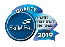 SkillsUSA Quality Chapter Excellence Program Award 2019