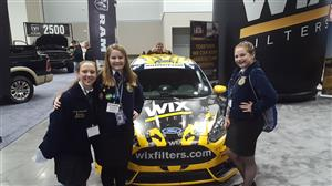 FFA students at the Indy 500 race track