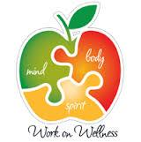 working on wellness logo