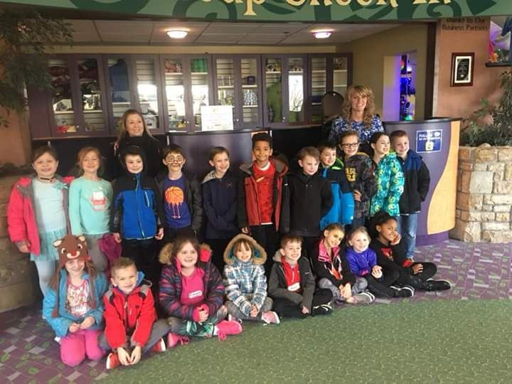 1/10/18 Coat Drive Pizza Party Winners